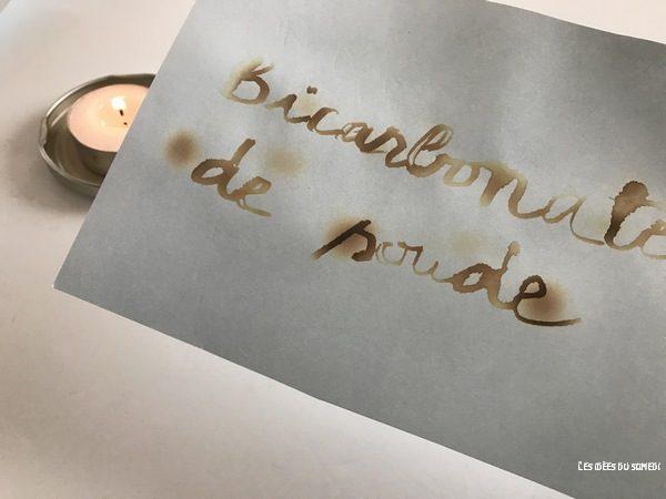 message bicarbonate de soude