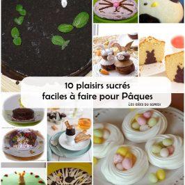 recettes dessert paques