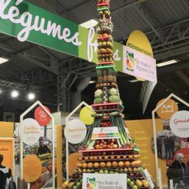 tour eiffel legumes