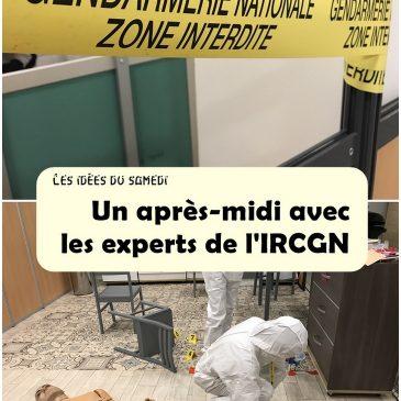 Techniques d'identification criminelle: réalité vs. fiction avec les experts de l'IRCGN