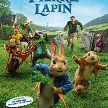 Pierre Lapin au cinéma pour le plaisir de tous