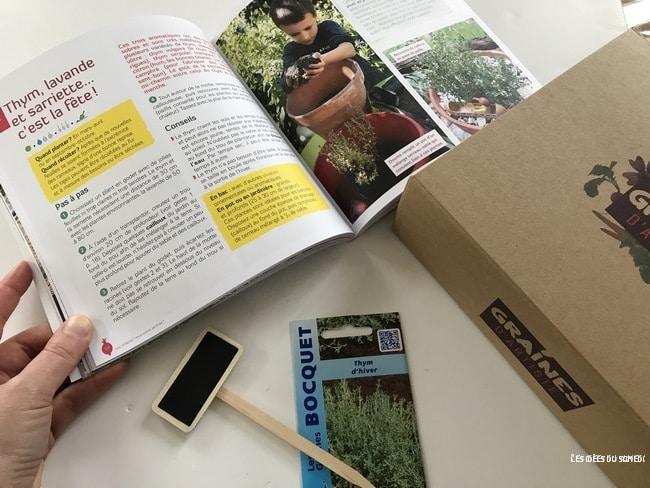 livre jardiner enfants