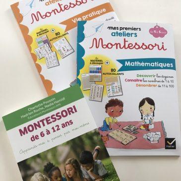 Des livres pour proposer des activités Montessori pour tous les âges, ou presque