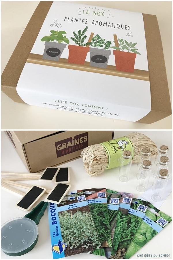 box graines artiste jardinier