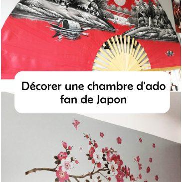Décoration de chambre d'ado, fan de japon et de manga