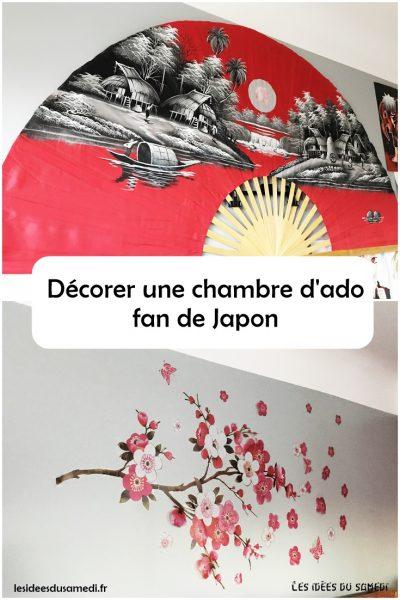 Décoration de chambre d\'ado, fan de japon et de manga