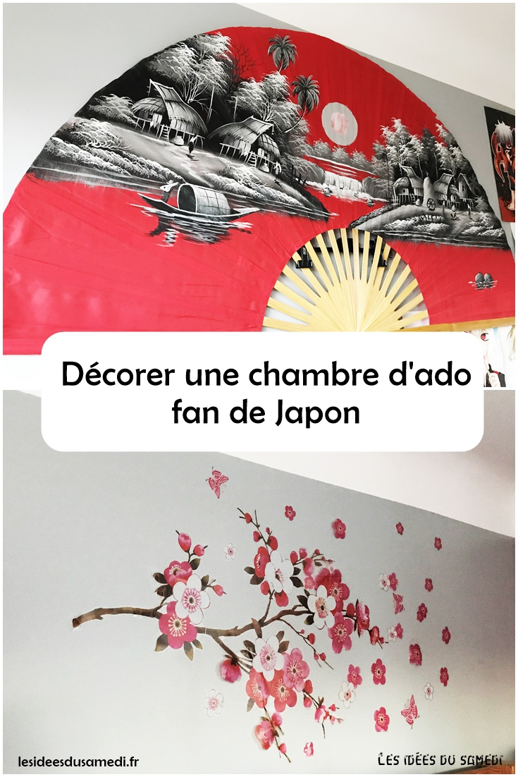 d coration de chambre d 39 ado fan de japon et de manga. Black Bedroom Furniture Sets. Home Design Ideas