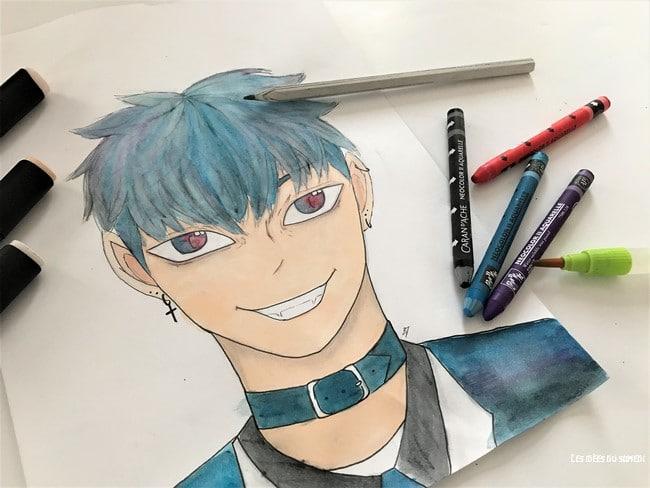 dessin manga ado