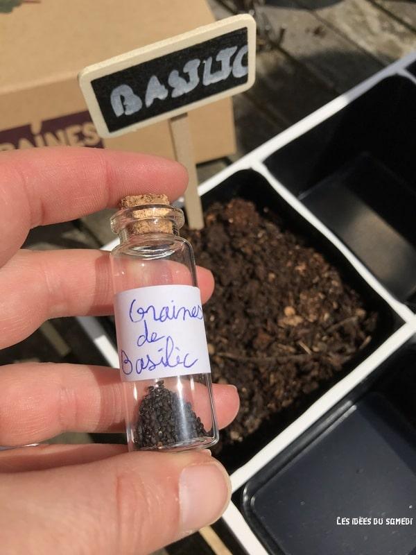 fioles graines artite
