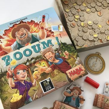 Un jeu explosif à découvrir en famille: BOOUM! de Haba