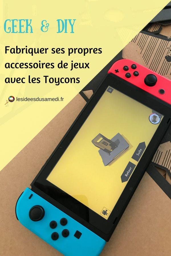 constuire accessoire jeu video toycon