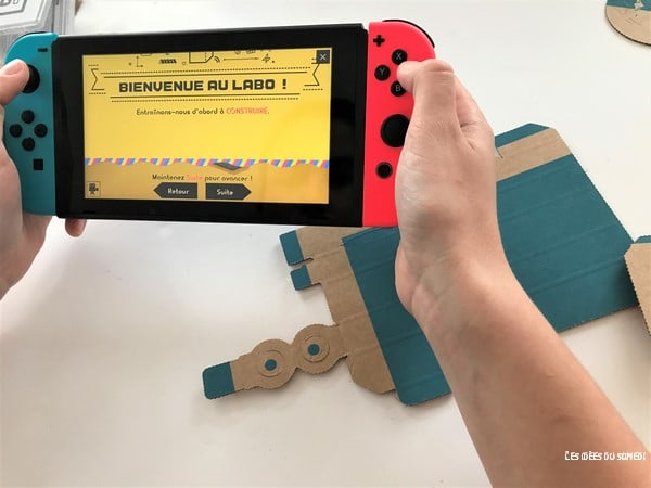decouverte nintendo labo