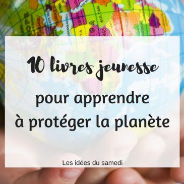 livres jeunesse proteger planete
