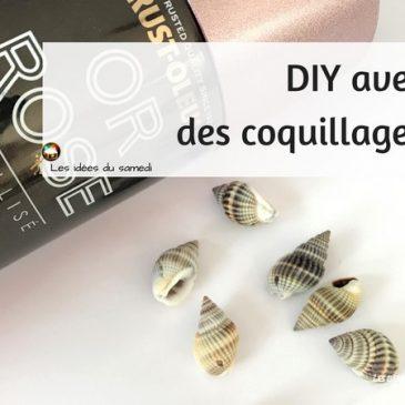 magnet coquillage diy bricolage