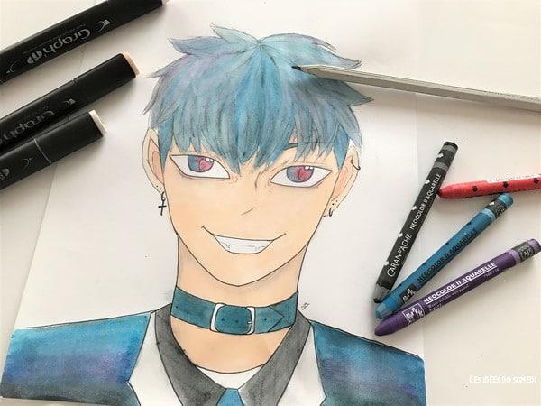 materiel debutant dessin manga