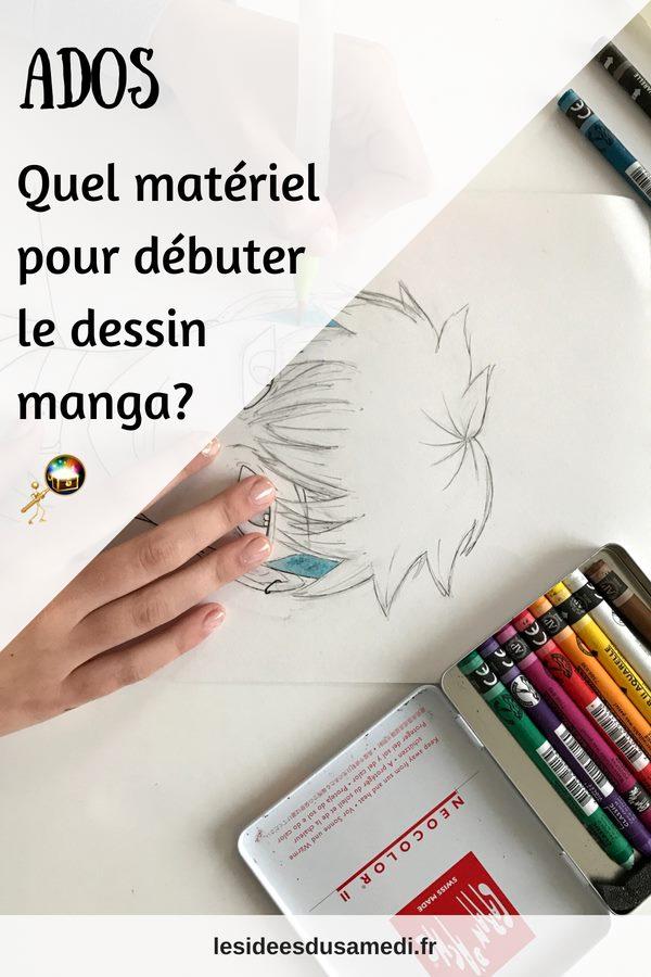 materiel dessin manga