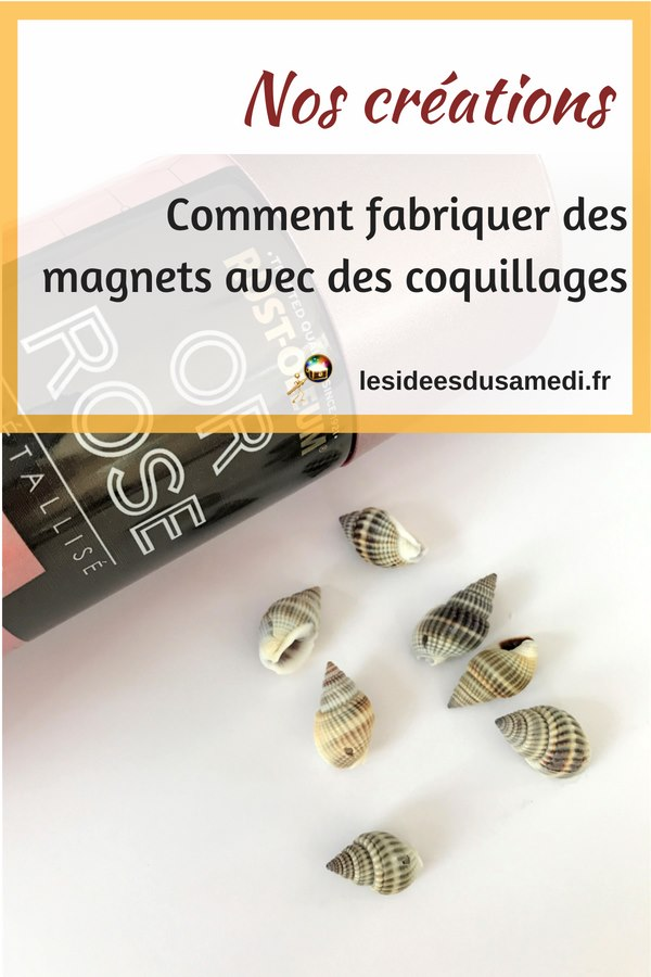 recycler coquillage magnet