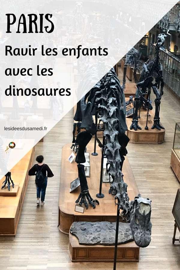 sortie paris enfants dinosaures