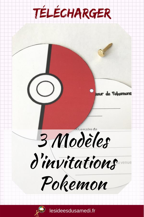 anniversaire pokemon invitations diplomes
