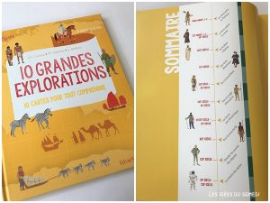 grandes explorations cartes