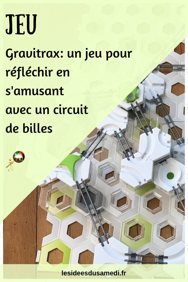 jeu original gravitrax construction billes