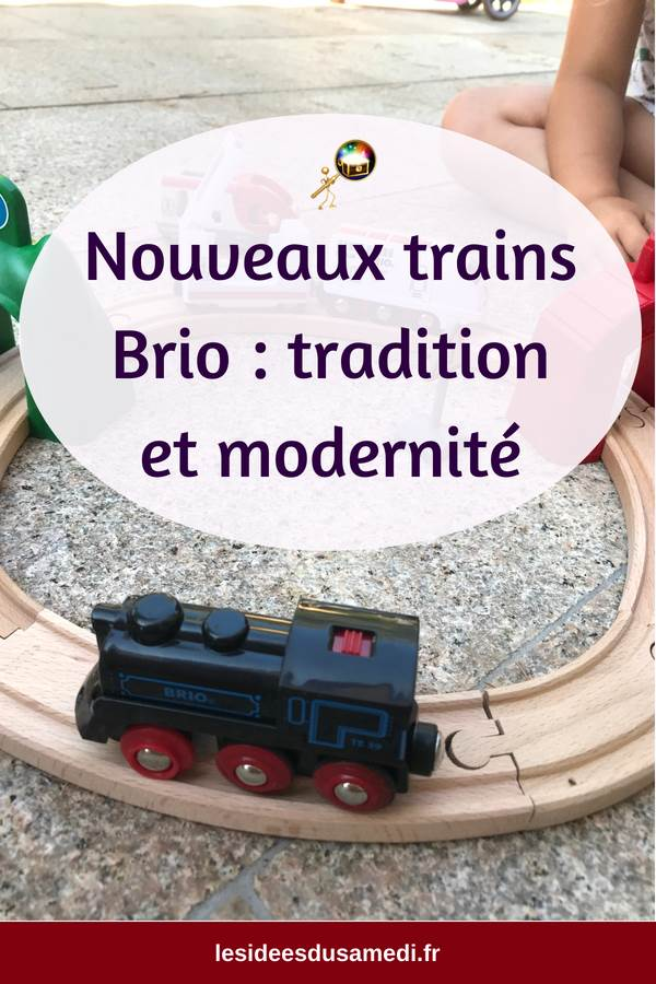 locomotive brio rechargeable