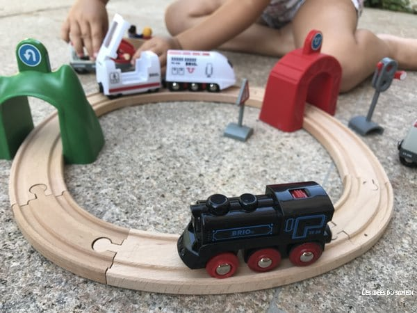 locomotive rechargeable brio