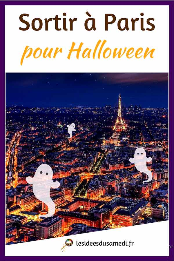 animations halloween paris vacances
