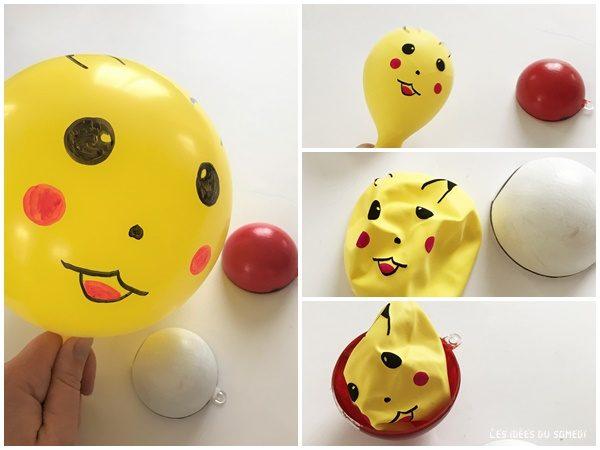 ballon pokemon pokeball
