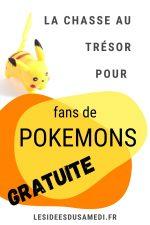 chasse aux tresors pokemon fans