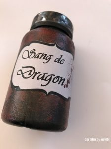 deco pot potion magique