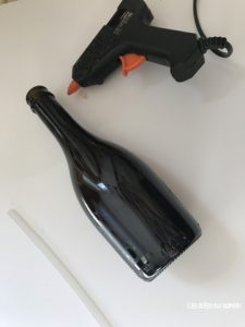 decorer bouteille halloween