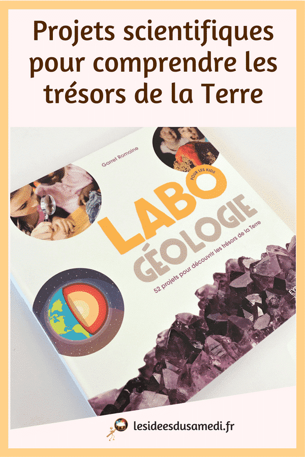 experience scientifique primaire geologie
