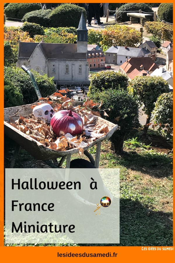 france miniature halloween animations