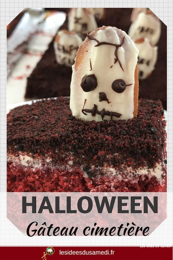 gateau halloween simple faire