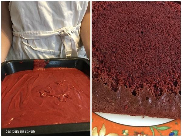 pate cuisson red velvet cake