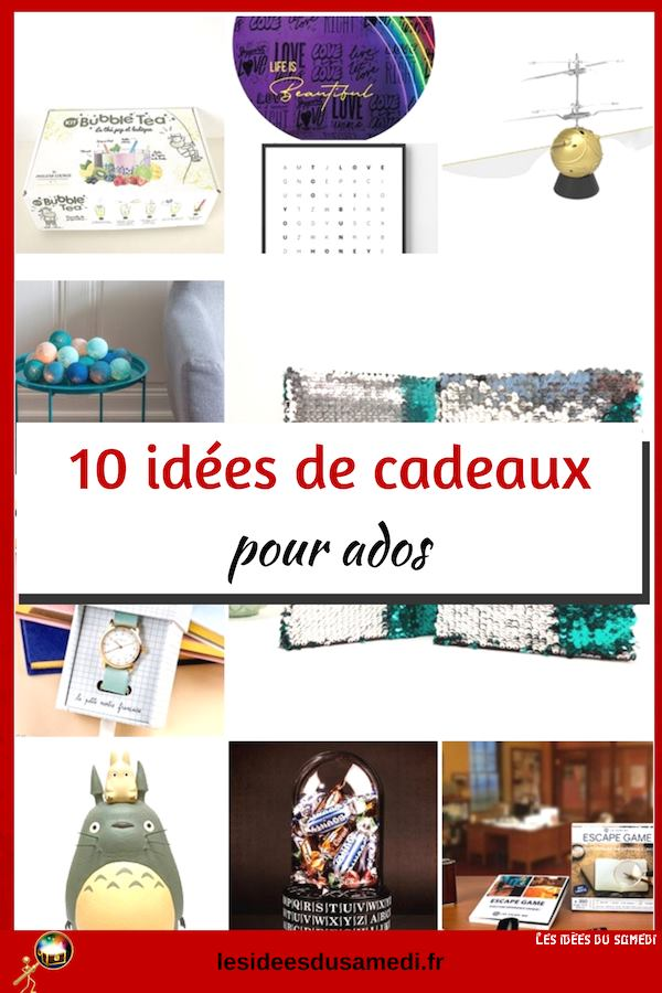 selection idees cadeaux ados noel