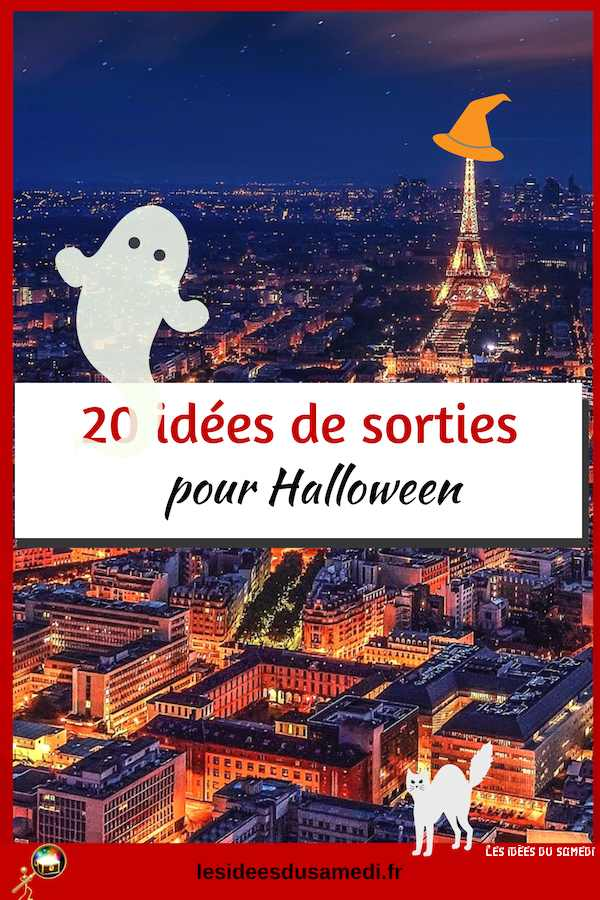 sorties halloween paris