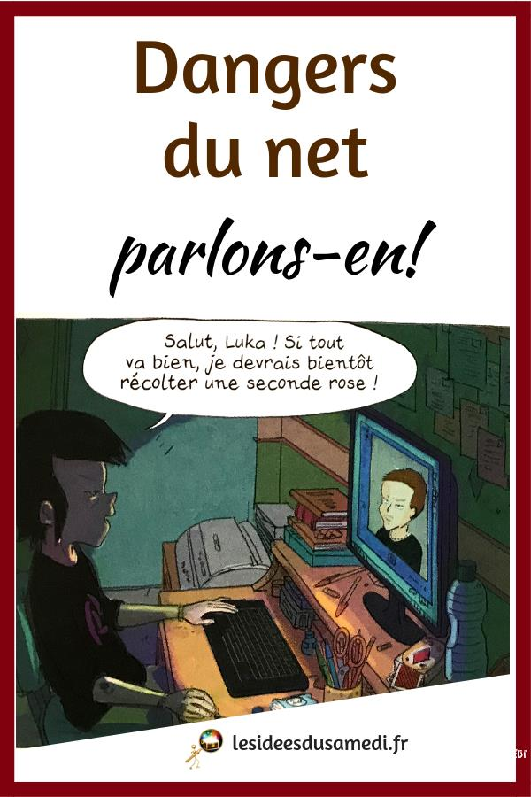 dangers du net bd pour ado