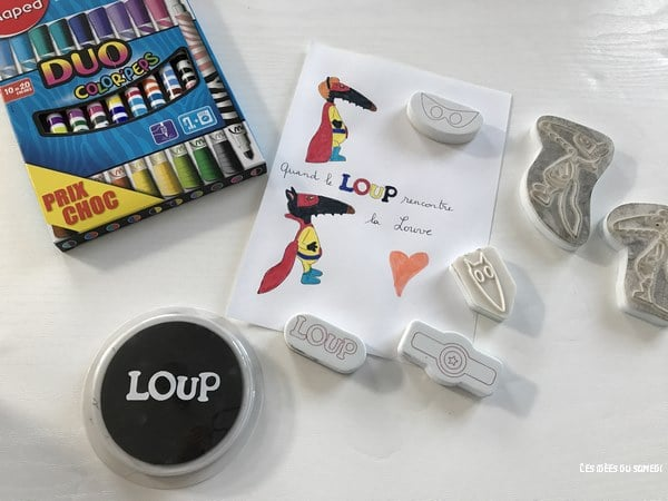 tampons loup joustra