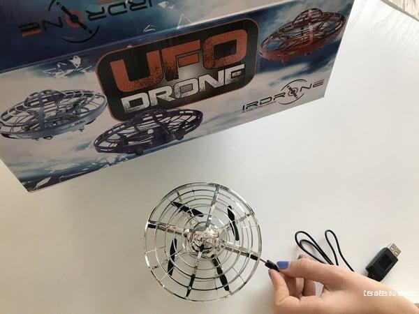 test irdrone ufo