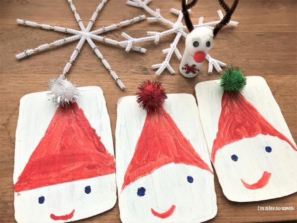 4 Activités Noël Faciles Avec Du Fil Chenille Et Des Pompons