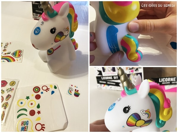 customisation licorne diy