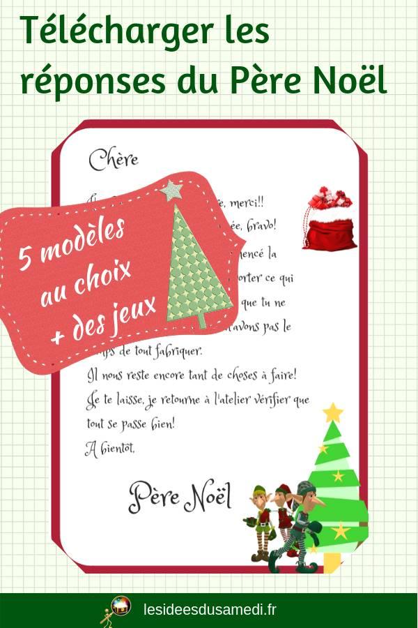 Le Pere Noel Repond Au Lettre.Telechargez La Reponse Du Pere Noel C Est Gratuit Mise A