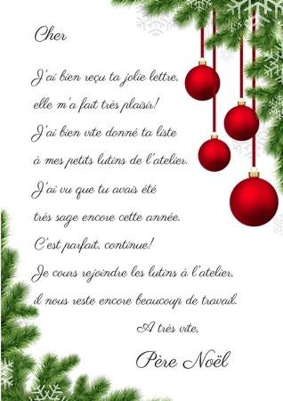Téléchargez la réponse du Père Noël c\u0027est gratuit!