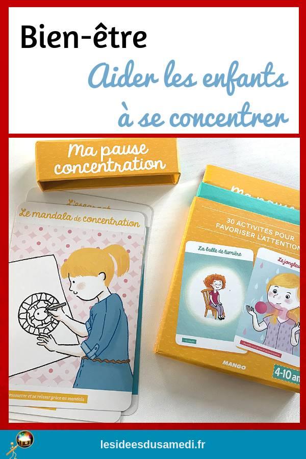 aider les enfants concentration