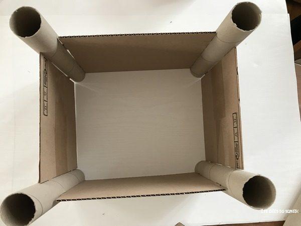 chateau carton facile fabriquer
