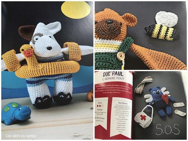 doudous animaux crochet
