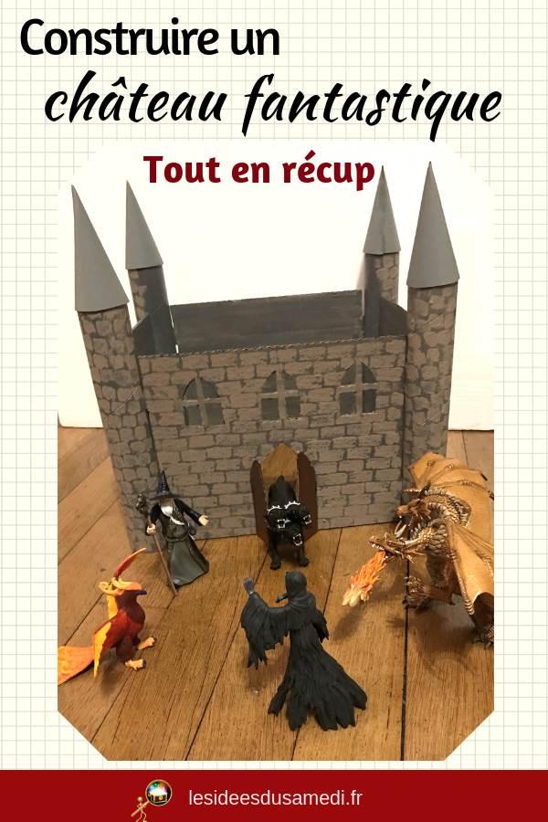 fabriquer chateau magique en carton