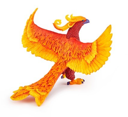 figurine phenix papo